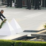 #Obama becomes the first sitting U.S. president to set foot in atomic-bombed #Hiroshima https://t.co/vuSibOz8gT https://t.co/m36Ec3Rnz0