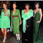 Whats up with green, @rihanna? 👀 https://t.co/a9sYrGv1lY