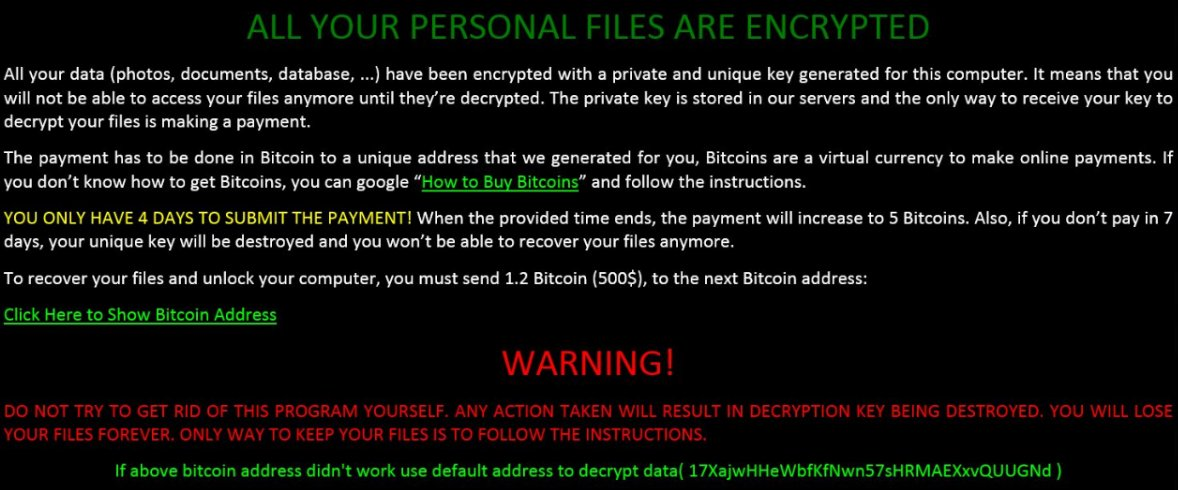 #Microsoft alerts users of a new type of #ransomware that exhibits worm-like behavior https://t.co/H0XsQPp1Be https://t.co/BDHOdtZHwo