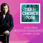 RT to vote for @Harry_Styles #ChoiceMaleHottie #TeenChoice ???? https://t.co/0nZXRtRADX