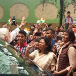 PM @narendramodi stops by to meet people on the way in Shillong. https://t.co/c8QYuVASzR