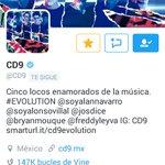 Nuestros chicos @CD9 ya llegaron al 1000,000 de followers ???????????? #CD91M https://t.co/XgWIVtozyT