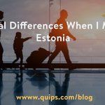 What cultural differences did you notice when moving to another country? https://t.co/G8Alp8xO5c #Estonia #Expats https://t.co/SXrSp014Mg