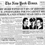 Here is our front-page report of the atomic bombing of Hiroshima on Aug. 8, 1945. https://t.co/yDX7SUvEIe https://t.co/yq75zl5IHC