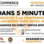 A partir de 9h, suivez en live sur #Periscope la conférence #ParisRetailWeek sur le #Commerce Augmenté https://t.co/J0mx8iIu1W