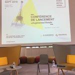 Hop là ! Cest parti pour la conférence de lancement de la #ParisRetailWeek avec @Social20cent @comexposium https://t.co/DaMNDUXRT0