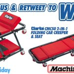 FOLLOW & RT for a chance to #win a Clarke CMC50 2-in-1 Car Creeper & Seat. Ends 5.30pm. #FreebieFriday T&Cs apply https://t.co/PMIxLMcRgx