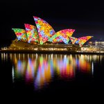 The Sydney Opera House sails will illuminate with Songlines, featuring the work of 6 Indigenous artists. 6pm-11pm. https://t.co/0dSq1c13pD