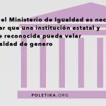 @Pablo_Iglesias_ ¿Vuestro compromiso de crear un Ministerio de Igualdad, es de #igualdaddegénero? #poletika https://t.co/QN0kDYGTvc