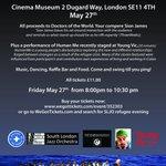 @LondonDateGuide Tonight #Charity #Jazz gig for Refugees #Cinemamuseum #London #SLJO https://t.co/5Mv5ndE0cS Pls RT https://t.co/1cegUgQAeg