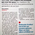 Zorgen over toename gaswagons in Apeldoorn. D66 stelt vragen. https://t.co/cPKvbCfd6V