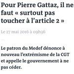 Soutien public de Pierre Gattaz = cadeau empoisonné pour François Hollande. https://t.co/OSS7iMWyxz