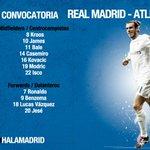 CONVOCATORIA:  ¡Zidane se lleva a toda la plantilla a la final de la Champions! 📝⚽  ¡VAMOS!  #APorLaUndecima #RMUCL https://t.co/Rrnt3roLtn