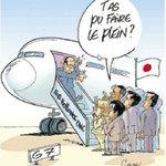 Larrivée de François Hollande au sommet du G7 a inspiré Chaunu aujourdhui https://t.co/XiCpNT6AZ9
