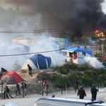 Mass violence and brutal stabbings as 200 Afghan and Sudan migrants rampage in Calais https://t.co/zH29vBgQeE https://t.co/2CJavPfTBo