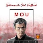 Welcome Jose Mourinho. Pihak klub memberikan pernyataan resmi bergabungnya Mou ke @ManUtd   https://t.co/7g3DD6vEHP https://t.co/hCTZO3CBPA