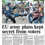 """What Else Are They Hiding? @thetimes """"EU army plans kept secret from voters"""" Is This Why UK Generals Favour #Brexit? https://t.co/90sTEj0wjp"""
