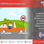 Si respetamos las leyes de tránsito todos disfrutamos del #FeriadoSeguro https://t.co/wUNw1u2cuT