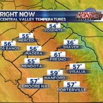 6:30 Am temperatures are in the 50s, low 60s in #Fresno. #cawx #yourcentralvalley https://t.co/UBhIfJJCuk