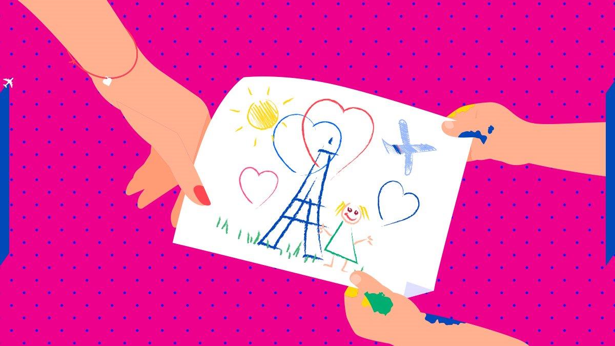Vous n'avez pas une âme d'artiste ? Offrez-lui un cadeau Air France Shopping !