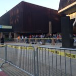 The line is forming for @realDonaldTrump s Downtown Fresno Rally. @ABC30 #Trump2016 https://t.co/hPROnJASr8