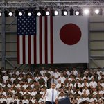 Proud of our men and women in uniform teaming with a great ally in Japan #ObamainJapan #Iwakuni #SDF @USFJ_J @POTUS https://t.co/pi1JHgG5mY