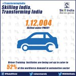 Skilled workforce is required to operate and keep your vehicle new. Empowering the auto sector. #TransformingIndia https://t.co/KAkhgSz7N1