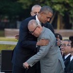 Obama meets a Hiroshima survivor. https://t.co/MJEeLYNDie