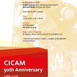 Op donderdag 2 juni viert het @CICAM_RU zijn 50e verjaardag! https://t.co/fyJhMLQlwJ