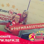 Delighted to be able to support the team at @Corks96FM today with #Radiothon16 Tune in #Cork and donate what you can https://t.co/FMd0qMPbzT