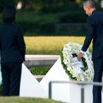 Obama calls for a world without nuclear weapons during historic visit to #hiroshima https://t.co/vt7QwxXUtF https://t.co/mav4s6CkNs