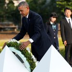 "Obama in Hiroshima: ""Death fell from the sky and the world was changed."" https://t.co/hb30hgmBty https://t.co/GdIWdTPH1m"