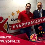 @MichealMartinTD dropped into CUH to Ken Perrott to make a donation to radiothon #96fmradiothon https://t.co/9SNR3SeDIZ