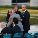 One of the Hiroshima survivors who met Obama was Tsugio Ito, 81, whose son died in 9/11 https://t.co/D83dVoNaiK https://t.co/Pd71tKTCIm