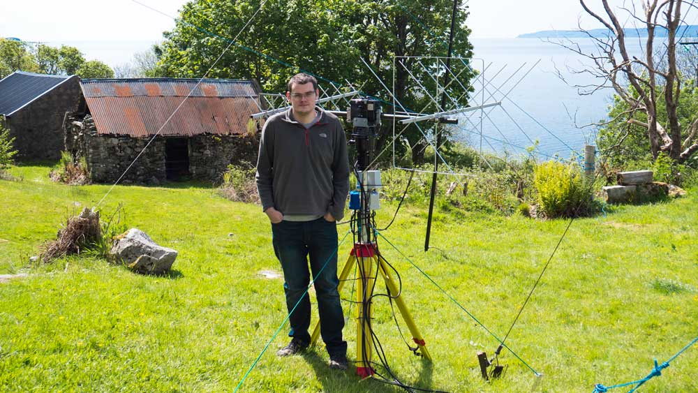 #amsat antennas at GS3PYE/P @wimo_de X-Quads, @SSB_Electronic Preamps and homebrew polarity switcher by @m1bxf #hamr https://t.co/MzpIhE6J8P