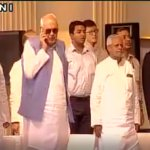 Farooq Abdullah during National Anthem. And these people are part of Indian politics. https://t.co/xIOsGUh8rK