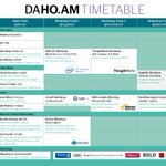 Full schedule for our daho.am developer conference is online! Join us next week! https://t.co/wffMgCGGou
