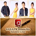 May kilig treat this Sunday ang King & Queen of Hearts, Daniel Padilla & Kathryn Bernardo 💛💛#ASAPKwentoMo https://t.co/snh5kYYgWP