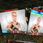 En NBA, léquipe de Cleveland affiche une photo de Justin Bieber pour que le public siffle les tentatives adverses ???? https://t.co/dUma8UVRyo