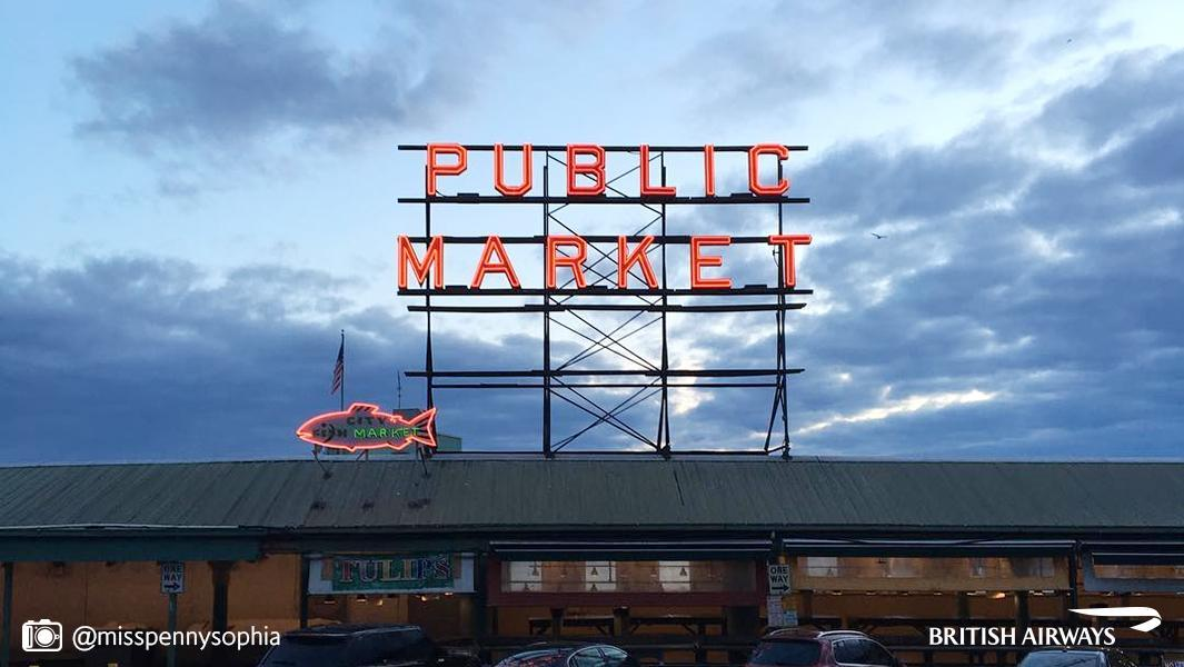 Pike Place is the USA's oldest continually-run farmers' market – discover