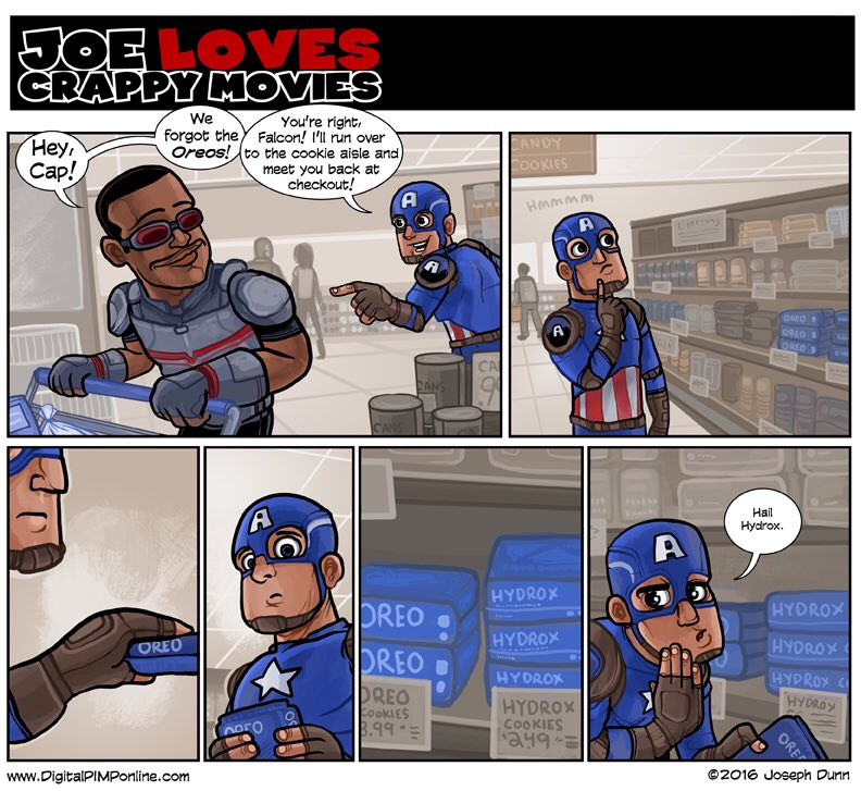 How deep does this go, Cap!? #joelovescrappymovies #TeamCap? https://t.co/6aycHO3VSQ