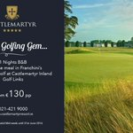 COMPETITION TIME!! Re-tweet this offer and be in with a chance to win it :) #Fridayfeeling @CastlemartyrLGC #golf https://t.co/7PqWu2qSIy