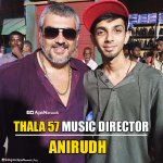 Its Official : #Thala57 Music Director @anirudhofficial Therii Mass Combo is Back Again https://t.co/KMJqRLxAra