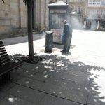Arde una papelera en la calle de Reina #Lugo https://t.co/sORRNOiWS6