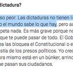 Atentos a la respuesta de @Albert_Rivera sobre las dictaduras. La paz y el orden del franquismo. https://t.co/EazJxDD3o7