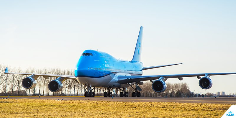 "KLM will be saying goodbye to the ""Grand Old Lady"" of the fleet, the Boeing 747."