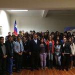 Ayer el @AlcaldeZarzar dió inicio al Preuniversitario Municipal, junto a más de 60 Jóvenes de #Chillán https://t.co/9ghE99tY2d