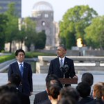 President Obama delivered a powerful message about the legacy of Hiroshima @POTUS オバマ大統領は、広島の平和記念公園で「核なき世界への決意」を表明した https://t.co/lQzNO3vS4d