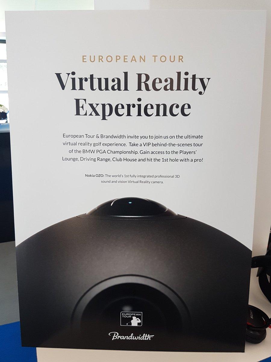 Roll up,  roll up.... Geeeeeet your VR..   #vrfilmmaker #VR #Nokia #ozo #nokiaozo #vrgolf https://t.co/a4pg1yitzd