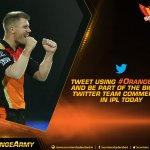 Join us for #OrangeVoice one final time this season, as we look to make it to our first final. #SRH #OrangeArmy https://t.co/fb1akUVaOW